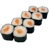 Классические роллы с лососем