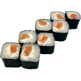 Классические роллы с лососем и сыром